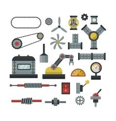 Machine parts vector image vector image