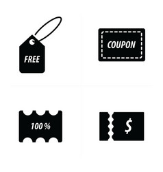 Price tag icon vector