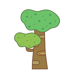 The trees vector image