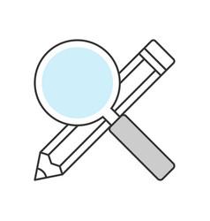 Searching keywords vector