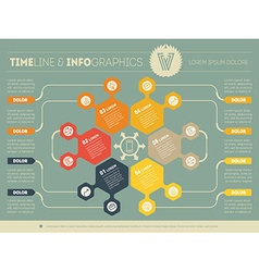 Web template for circle infographic diagram or vector
