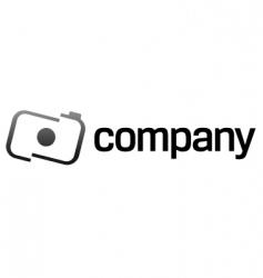 camera logo design vector image vector image