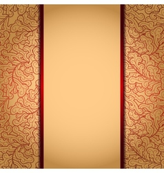 Elegant gold background vector