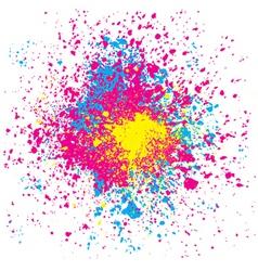 grunge splatter vector image