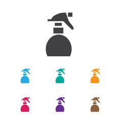 Of coiffeur symbol on spray vector