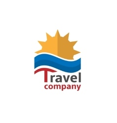 Travel company vector