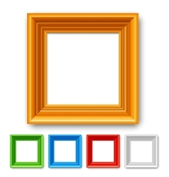Color picture frame vector