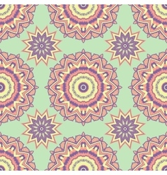 Ethnic floral seamless pattern2 vector image