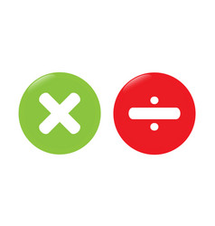 multiplication icon vector image vector image