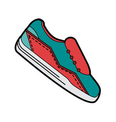 sport sneakers icon image vector image