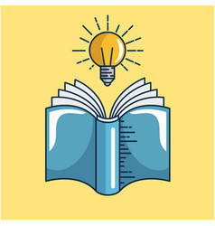 text books handmade drawing vector image