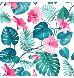 Tropical flower vector