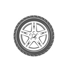 Vintage element of the car service vector
