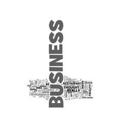 What business are you in text word cloud concept vector
