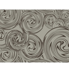 Swirling hand drawn of various vintage background vector
