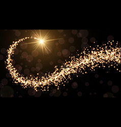 Abstract golden christmas background vector