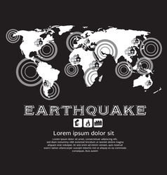 Earthquake vector