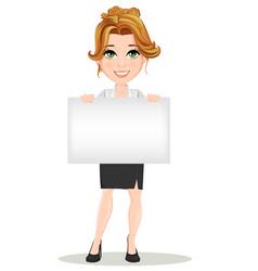 businesswoman 02 vector image