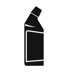 Container of drain cleaner icon vector