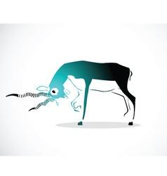 deer 3 vector image vector image