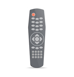 Modern remote control for electronics icon vector