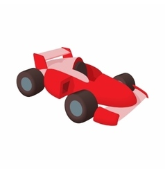 Race car icon cartoon style vector image vector image
