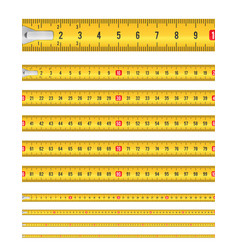 seamless tape measure vector image vector image