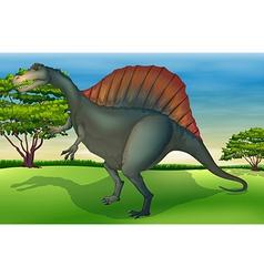 The spinosaurus vector