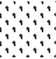 Whistle pattern vector