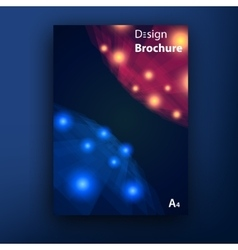 Brochure booklet cover design templates vector