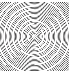 Radial pattern background radial black vector