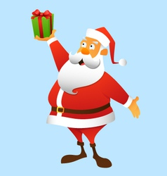 A present from Santa Claus vector image vector image