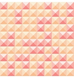 Abstract squares orange and red background vector