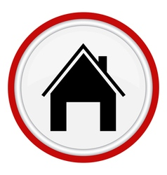 Icon home vector