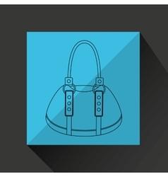Female wallet design vector