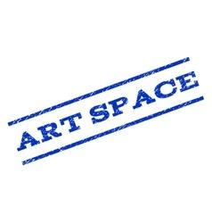 Art space watermark stamp vector
