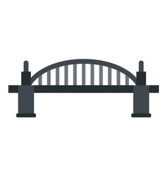 Bridge icon isolated vector