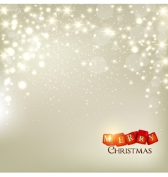 Christmas holidays background vector image vector image