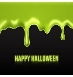 Green slime vector image