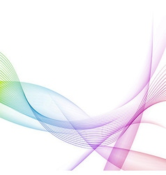 Modernistic bright colorful motion background vector image vector image