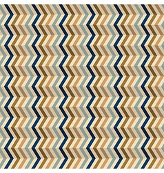 Fashion geometrical pattern with zigzag vector image