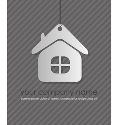 home icon design element vector image