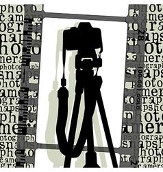 poto camera vector image