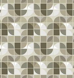 Neutral geometric background ornament abstract vector