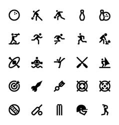 Sports and games icons 8 vector