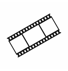 Film with frames icon simple style vector