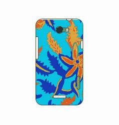 batik phonecase 13 vector image vector image
