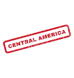 Central America Rubber Stamp vector image vector image