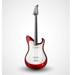 Electric guitar vector image vector image