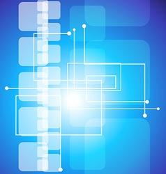 futuristic technology vector image